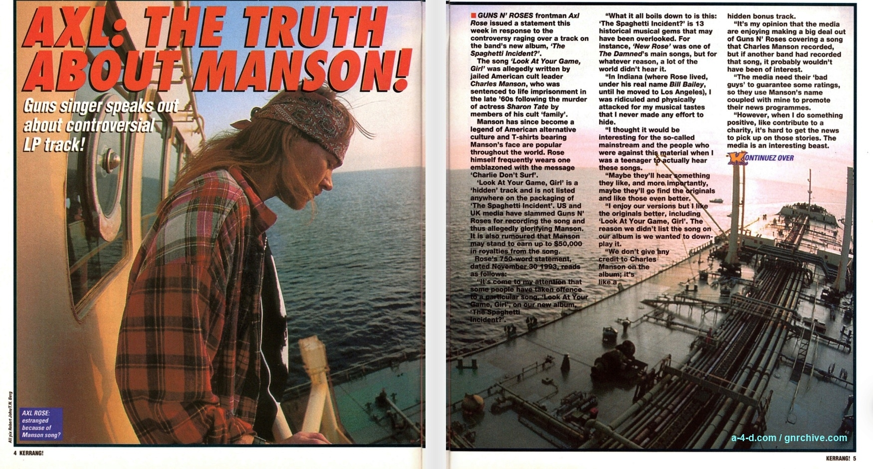 1993.12.11 - Kerrang! - Axl: The Truth About Manson 1993_187
