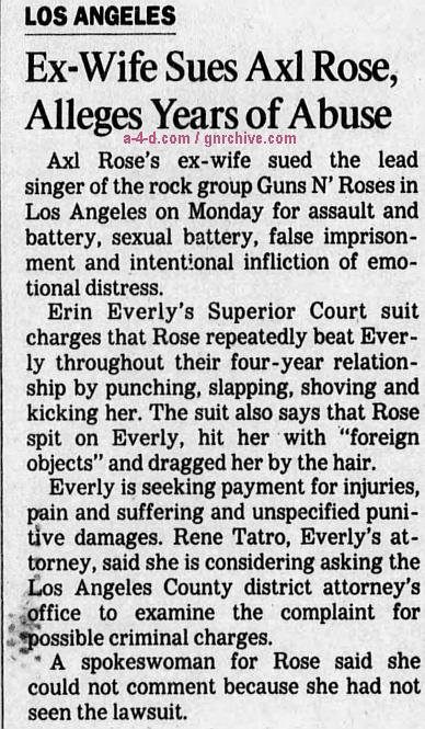 1994.03.08 - Los Angeles Times - Ex-Wife Sues Axl Rose, Alleges Years of Abuse 1994_010