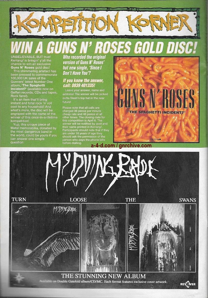 1994.03.19 - Kerrang - Video Violence! 1994_058