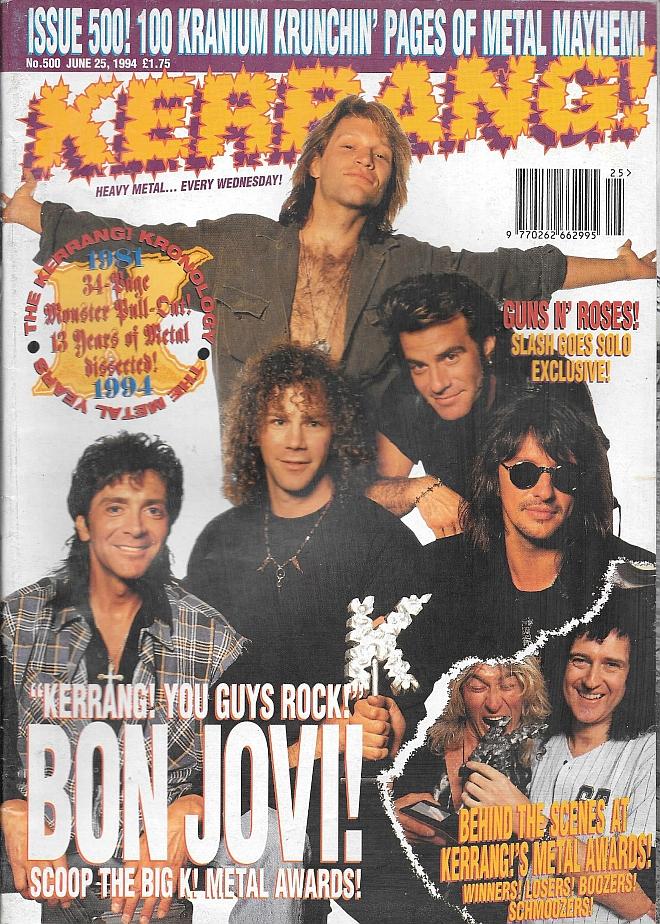 1994.06.25 - Kerrang - Slash 'N' Burn! 1994_062