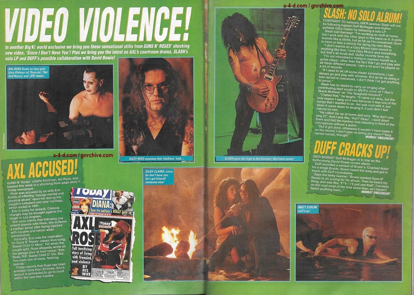 1994.03.19 - Kerrang - Video Violence! 1994_065