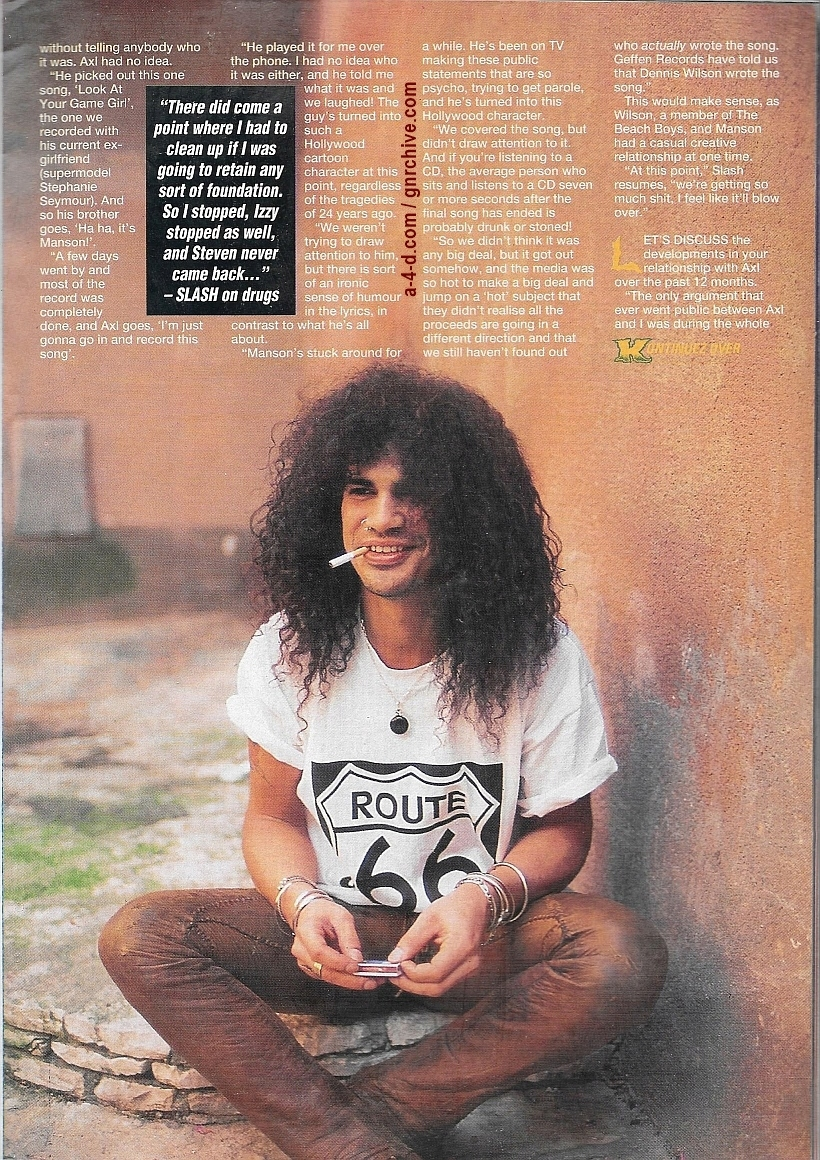1994.01.15 - Kerrang! - All Guns Blazing! (Slash) 1994_067