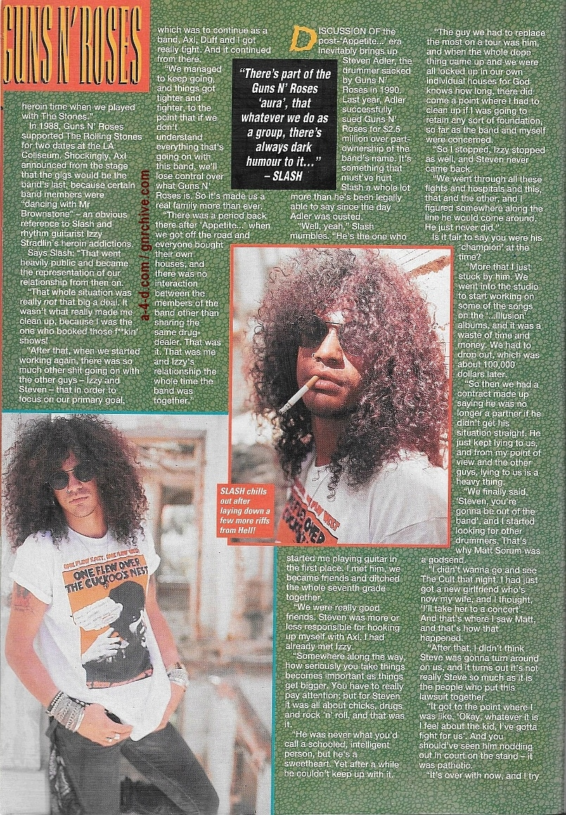 1994.01.15 - Kerrang! - All Guns Blazing! (Slash) 1994_070