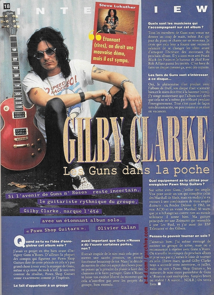 1994.07.DD - Guitarist (France) - Guns In The Bag (Gilby) 1994_075