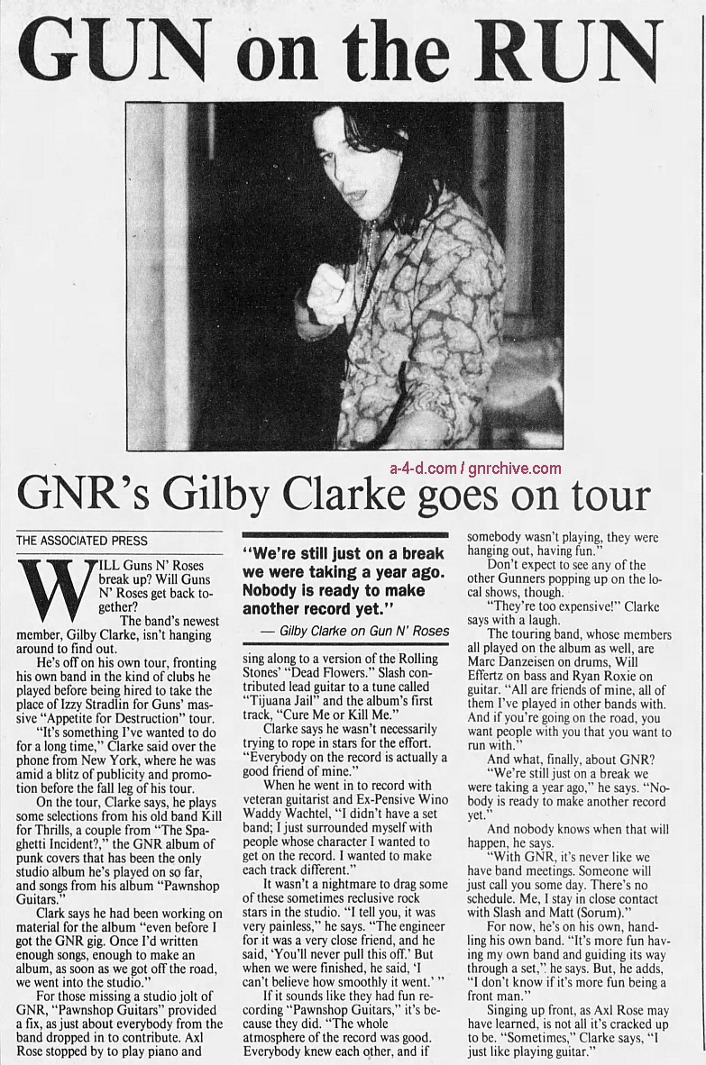 1994.10.20 - Quad City Times - Gun On The Run (Gilby) 1994_114