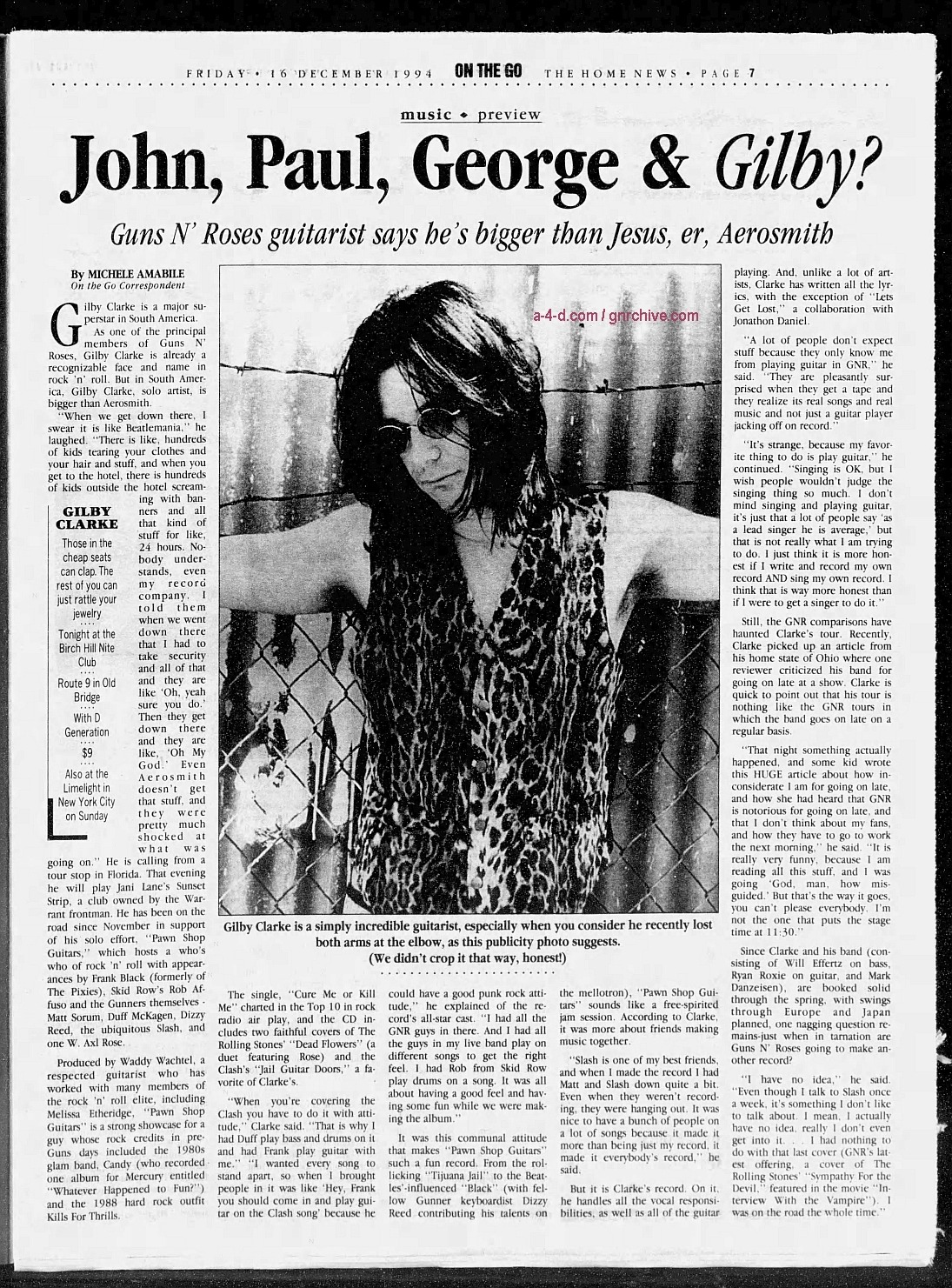 1994.12.16 - The Central New Jersey Home News - John, Paul, George & Gilby? 1994_116