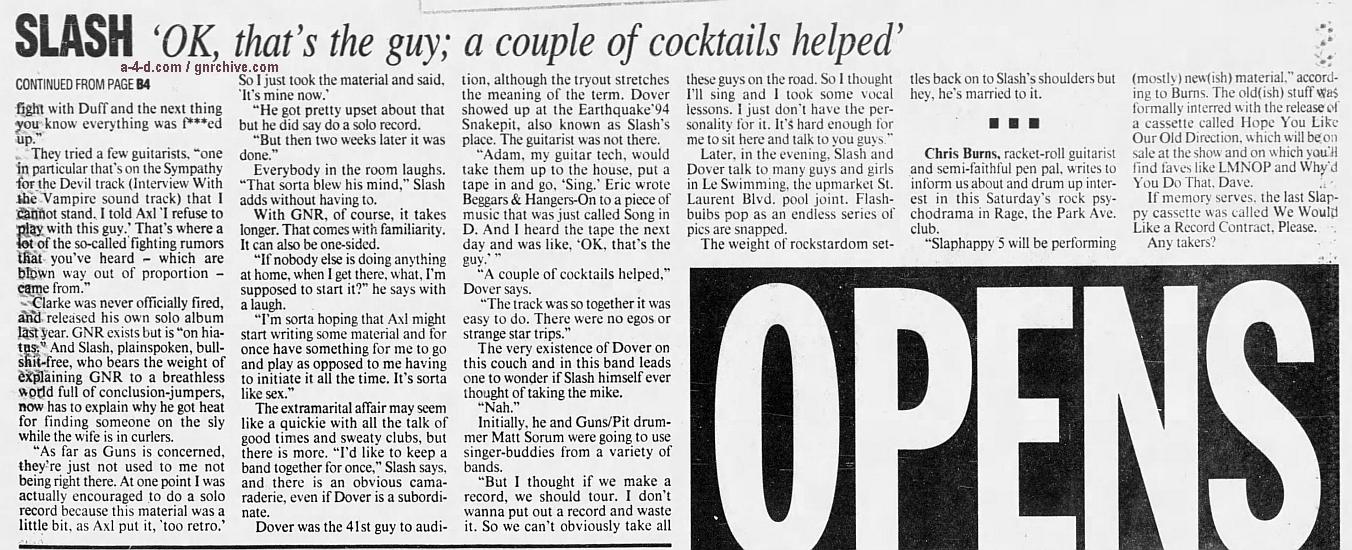 1995.01.26 - The Gazette - Slash Has A New Flame 1995_017