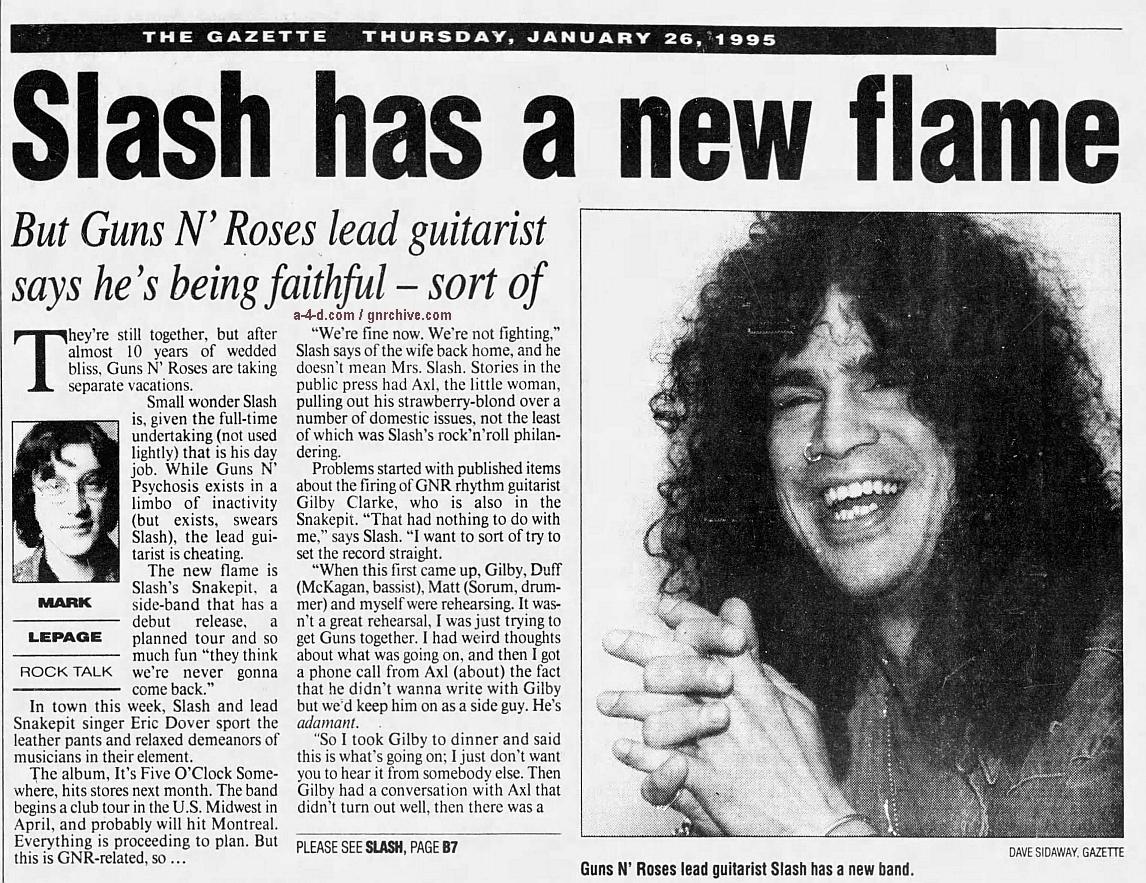 1995.01.26 - The Gazette - Slash Has A New Flame 1995_018