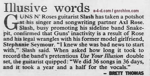 1995.02.12 - The Sydney Morning Herald - Illusive Words (Slash) 1995_022