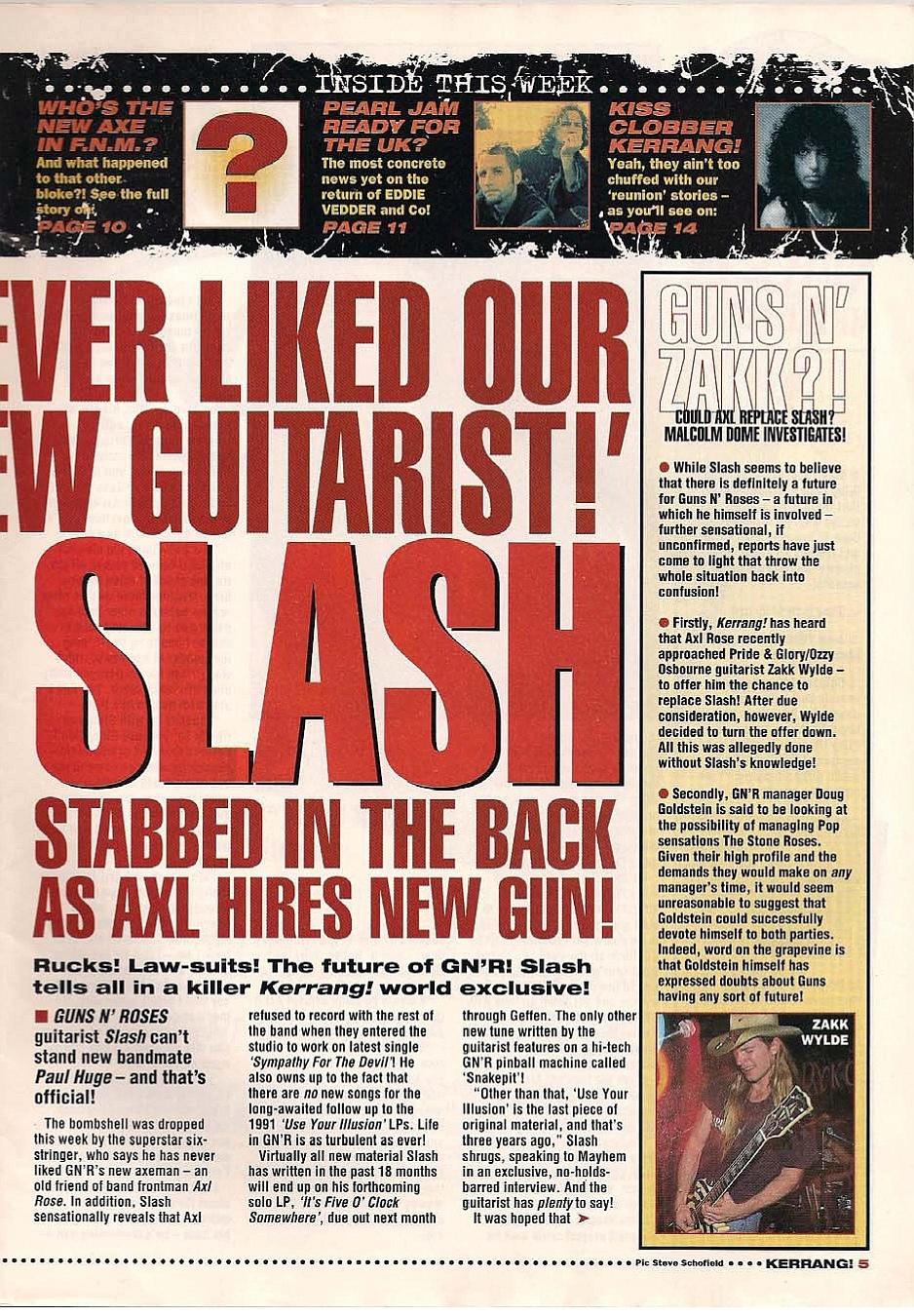 "1995.01.14 - Kerrang - ""I Never Liked Our New Guitarist!"" (Slash) 1995_039"