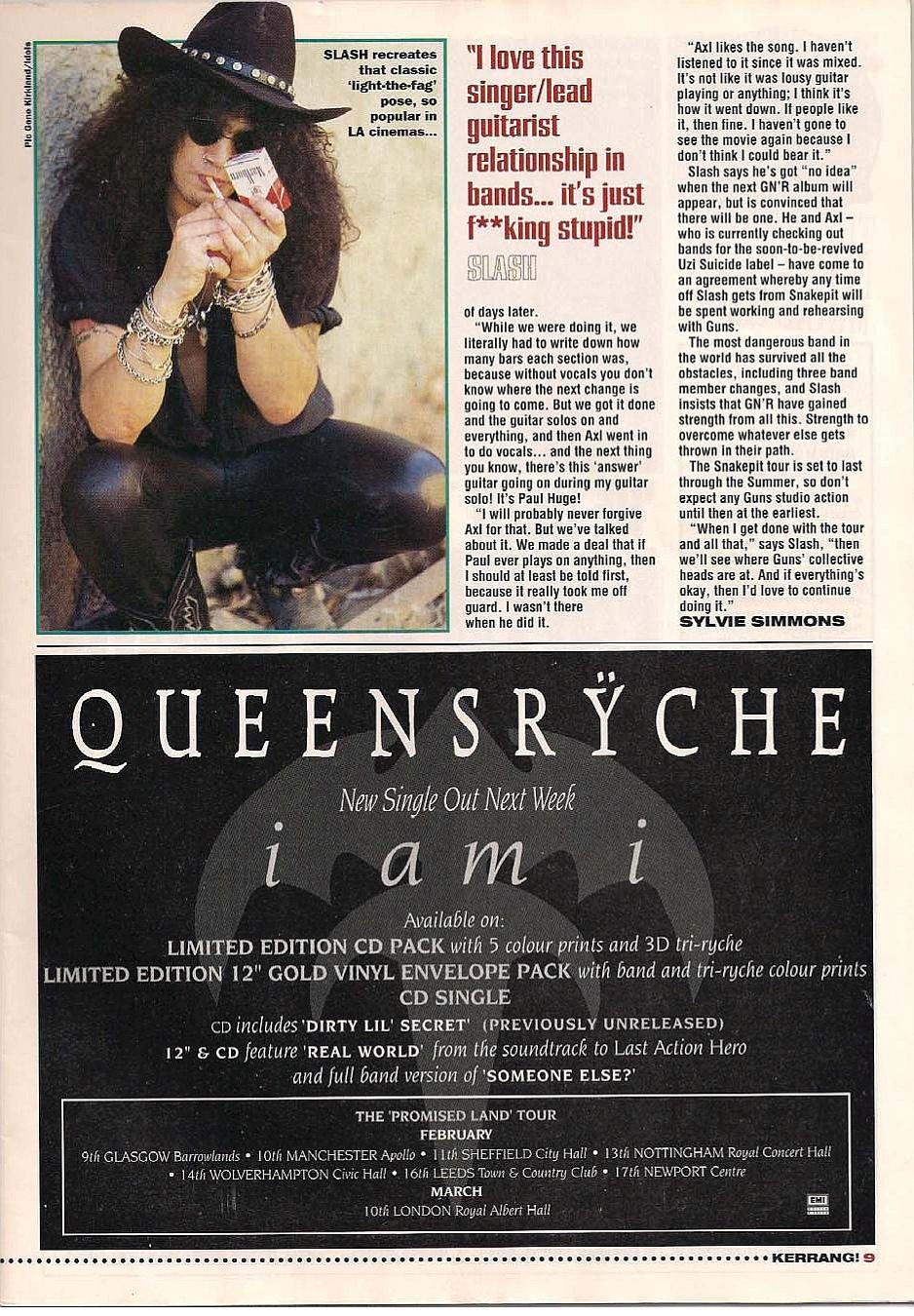 "1995.01.14 - Kerrang - ""I Never Liked Our New Guitarist!"" (Slash) 1995_041"