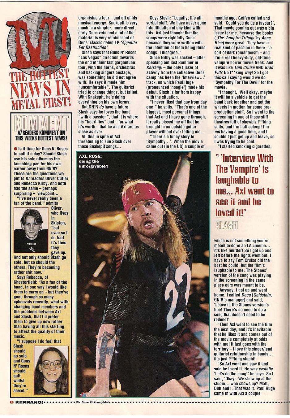 "1995.01.14 - Kerrang - ""I Never Liked Our New Guitarist!"" (Slash) 1995_042"