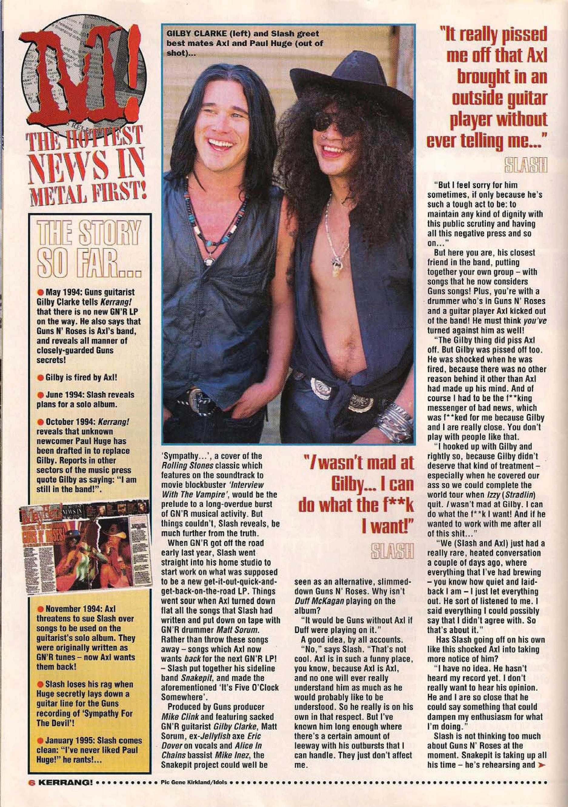 "1995.01.14 - Kerrang - ""I Never Liked Our New Guitarist!"" (Slash) 1995_043"