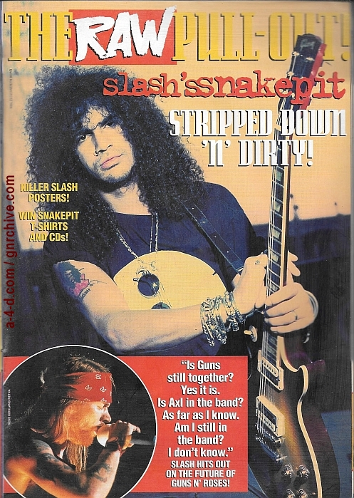 1995.03.01 - RAW - Slash's Snakepit: Stripped Down 'n' Dirty! 1995_045