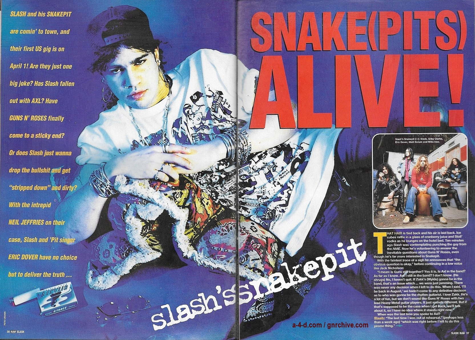 1995.03.01 - RAW - Slash's Snakepit: Stripped Down 'n' Dirty! 1995_047