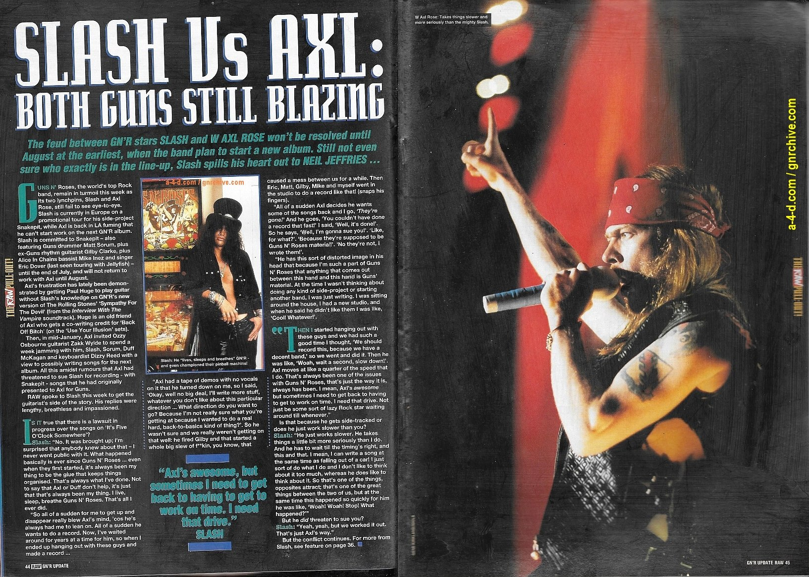 1995.03.01 - RAW - Slash's Snakepit: Stripped Down 'n' Dirty! 1995_050