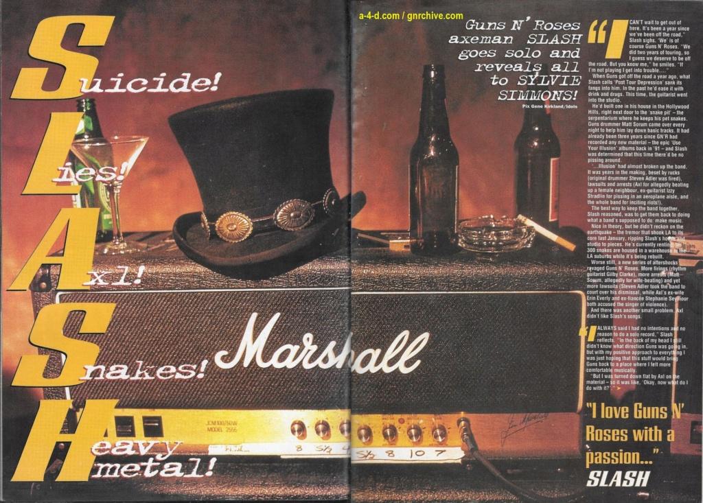 1995.02.18 - Kerrang! - Suicide! Lies! Axl! Snakes! Heavy Metal! (Slash) 1995_066