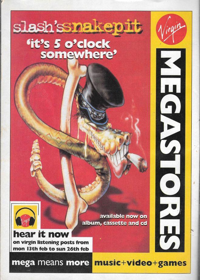 1995.02.18 - Kerrang! - Suicide! Lies! Axl! Snakes! Heavy Metal! (Slash) 1995_068