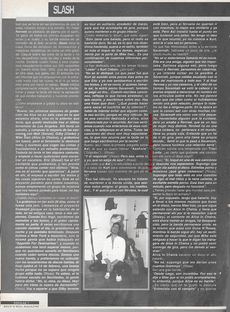 1995.02.DD - Popular 1 (Spain) - Interview with Slash 1995_p13