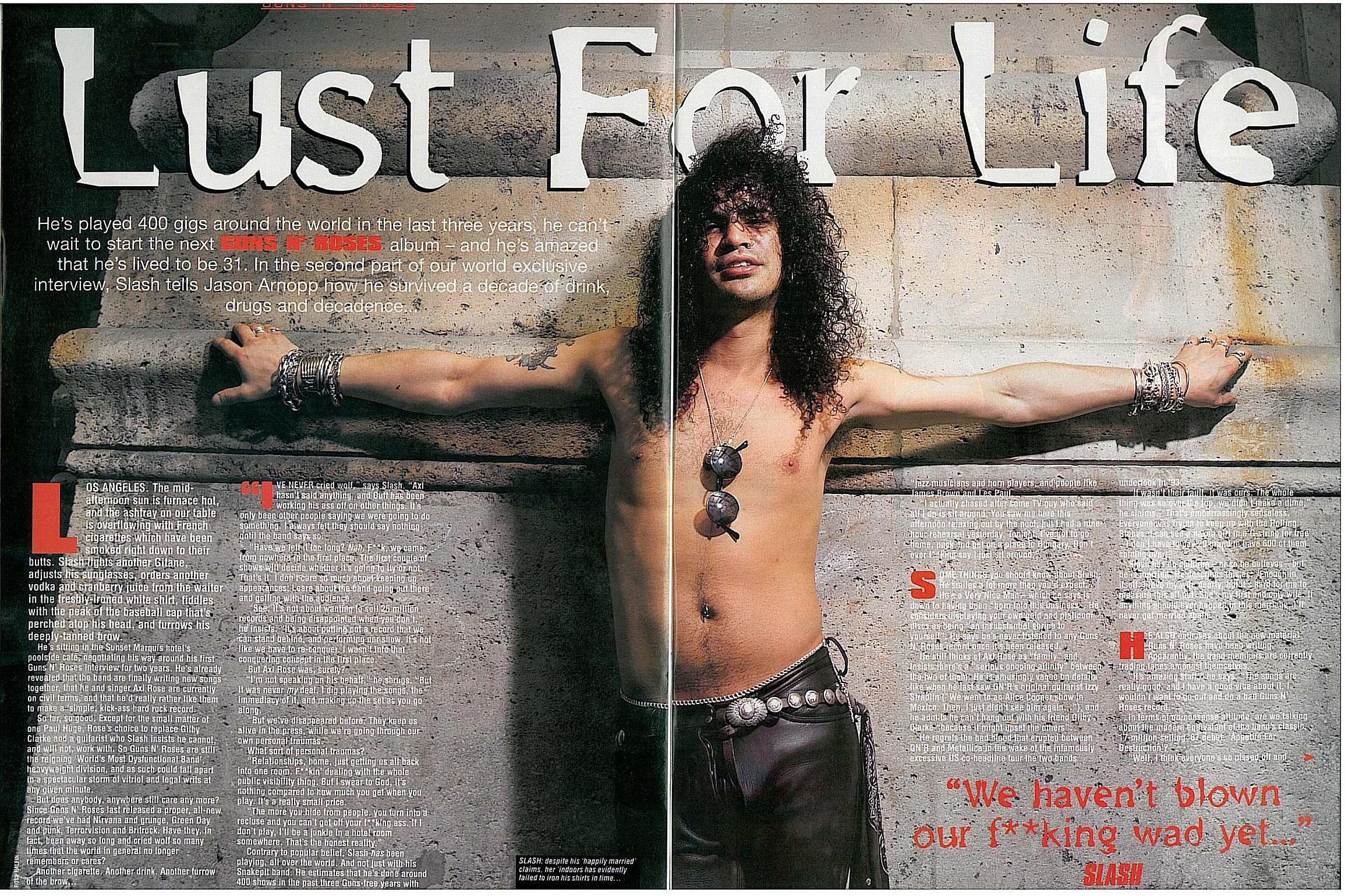 "1996.09.21 - Kerrang! - ""We Ain't Dead Yet"" (Slash) 1996_010"