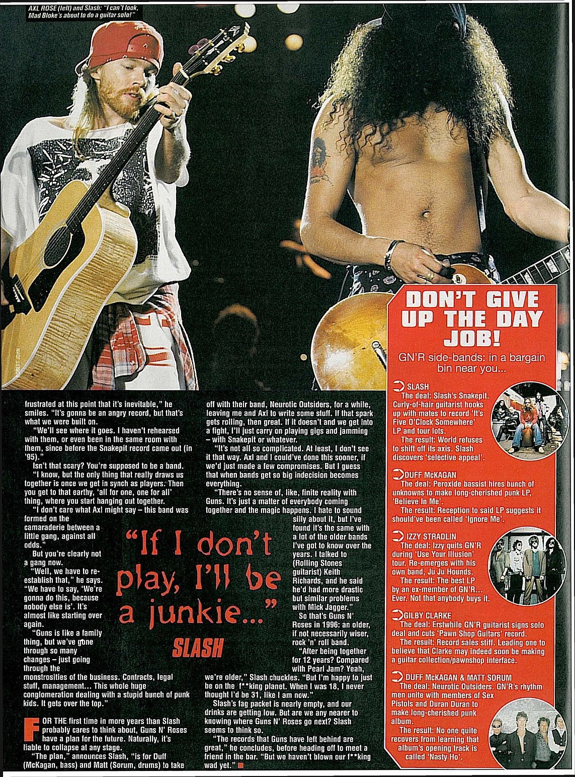 "1996.09.21 - Kerrang! - ""We Ain't Dead Yet"" (Slash) 1996_011"