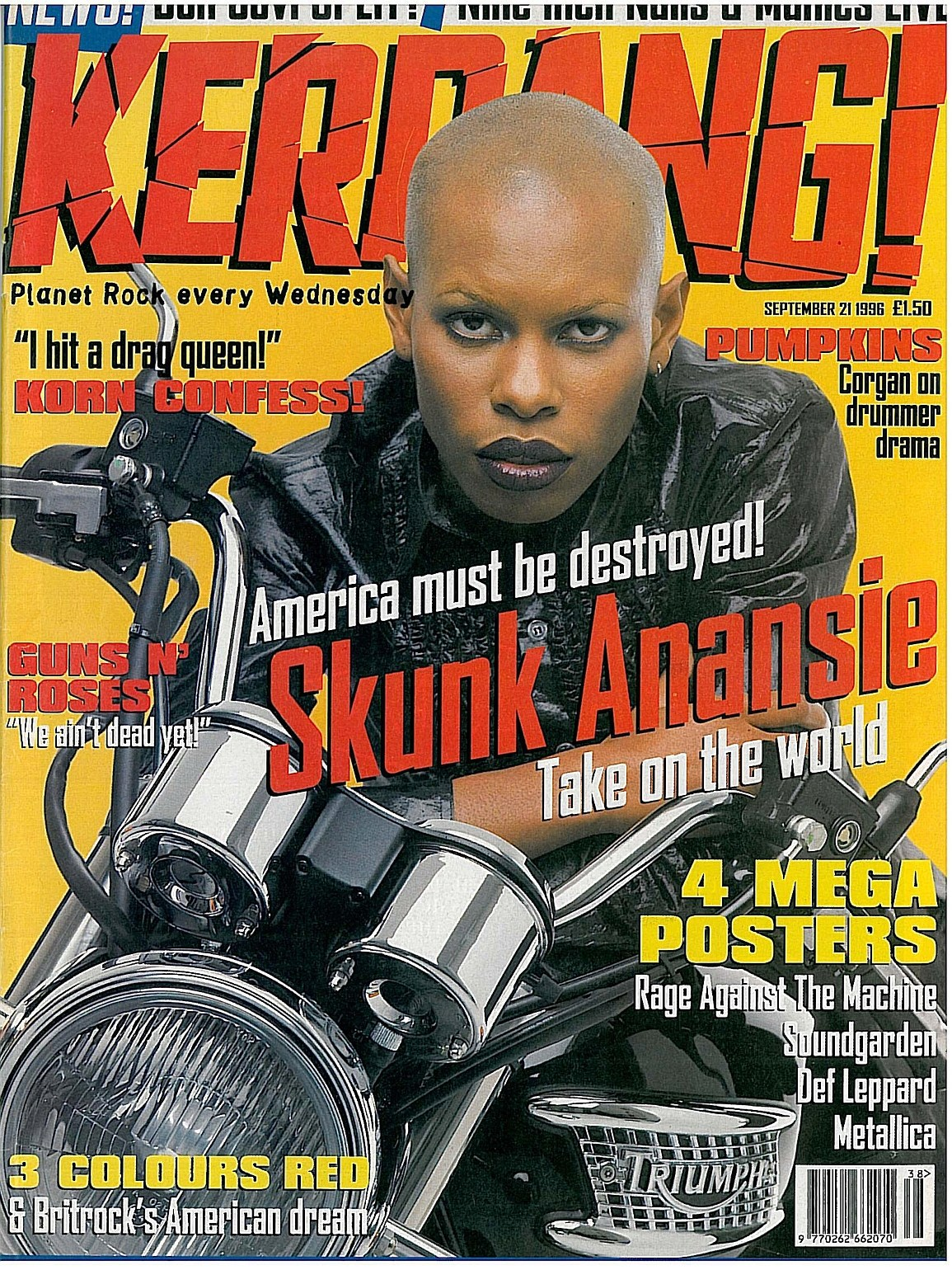 "1996.09.21 - Kerrang! - ""We Ain't Dead Yet"" (Slash) 1996_012"