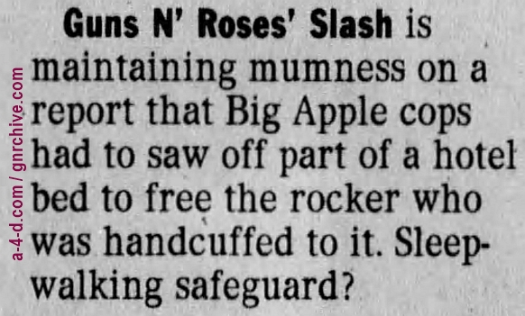 1996.05.29 - The Philadelphia Inquirer - Short Notice (Slash) 1996_018