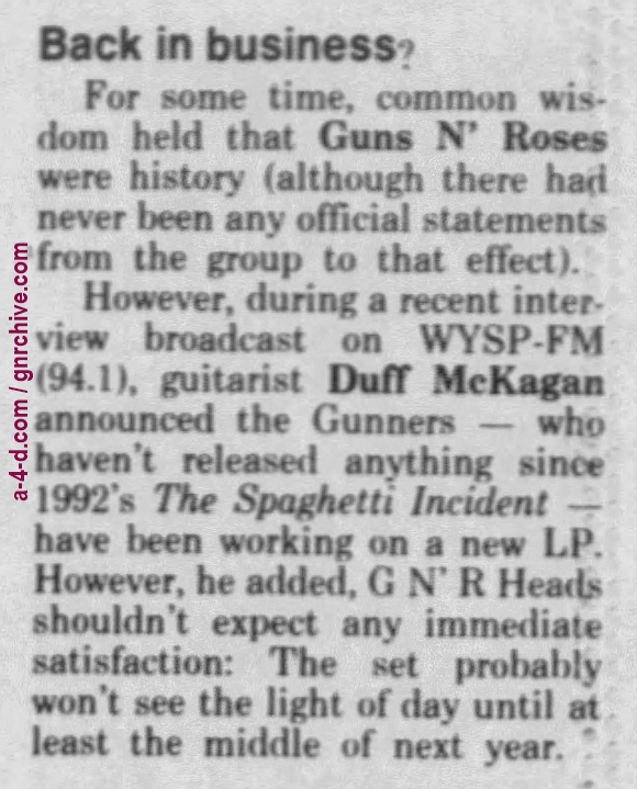1996.08.08 - Courier Post - Back in business? (Duff) 1996_025