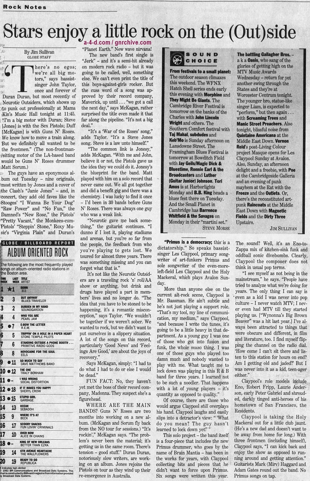1996.09.06 - The Boston Globe - Stars enjoy a little rock on the (Out)side (Duff) 1996_029