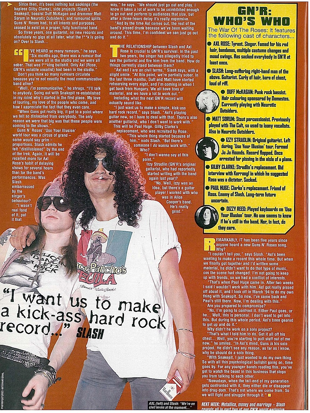 1996.09.14 - Kerrang! - GN'R Lies: The Splits, The Feuds, The Shocking Truth (Slash) 1996_112