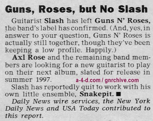 1996.11.01 - Philadelphia Daily News - Guns, Roses, but No Slash 1996_115