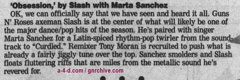 1996.11.18 - The Journal Times - 'Obsession,' by Slash with Marta Sanchez 1996_123