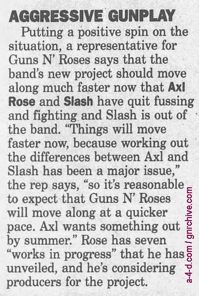 1996.11.22 - Daily Press - Guns 'R' Back 1996_125