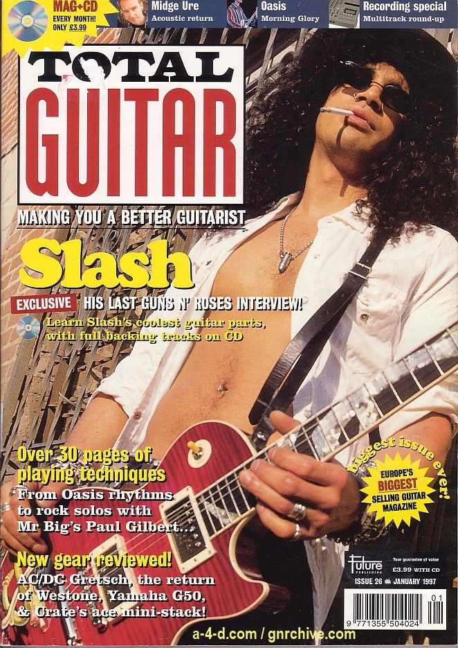 1997.01.DD - Total Guitar - Rock and Roses (Slash) 1997-010