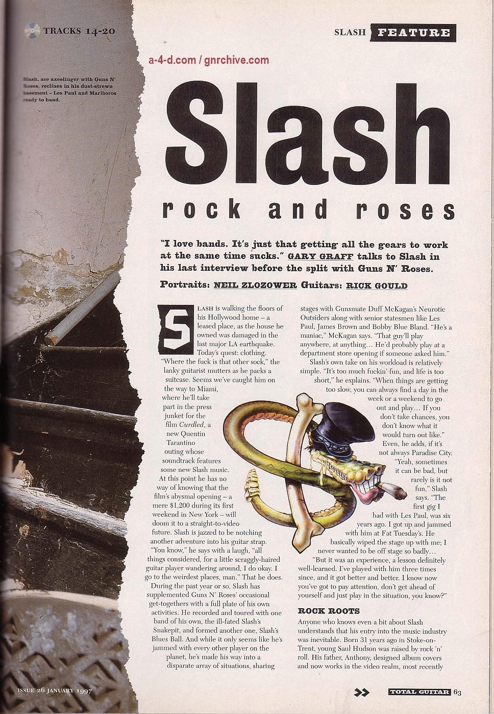 1997.01.DD - Total Guitar - Rock and Roses (Slash) 1997-014