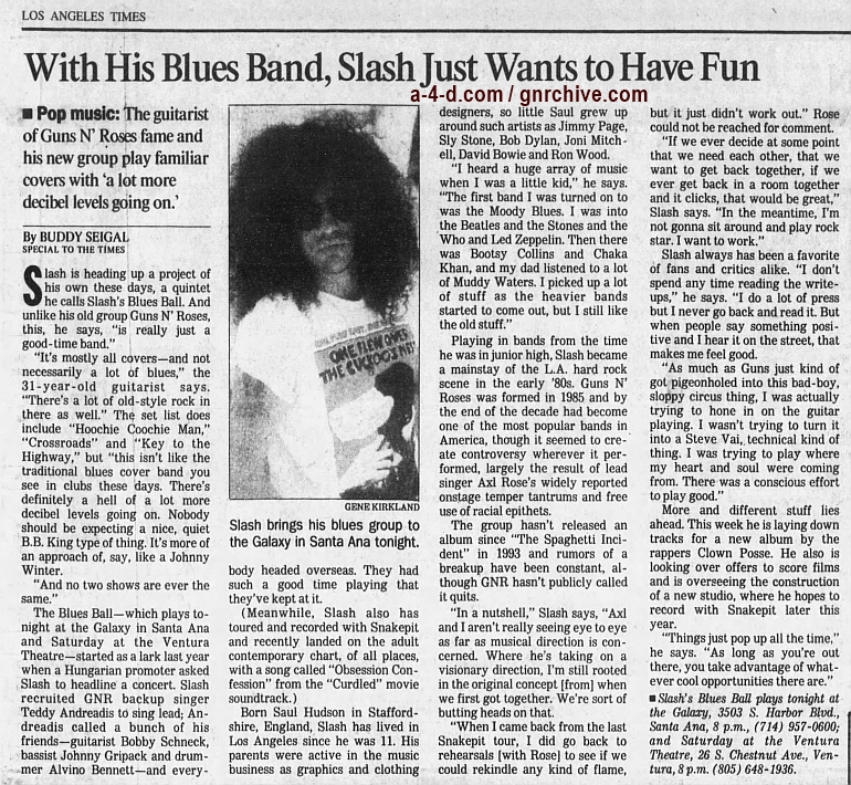 1997.02.07 - Los Angeles Times - With His Blues Band, Slash Just Wants to Have Fun (Slash) 1997_011