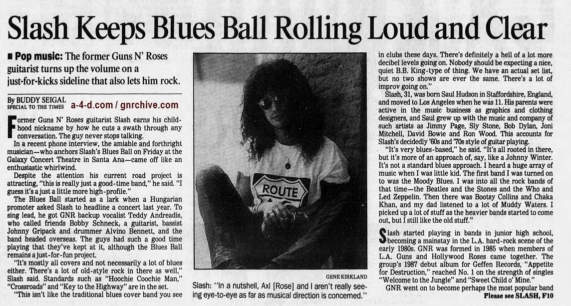 1997.02.07 - Los Angeles Times - With His Blues Band, Slash Just Wants to Have Fun (Slash) 1997_013