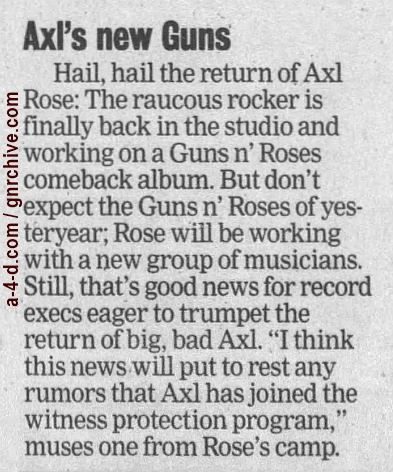 1998.07.11 - Stevens Point Journal - Axl's New Guns 1998_023
