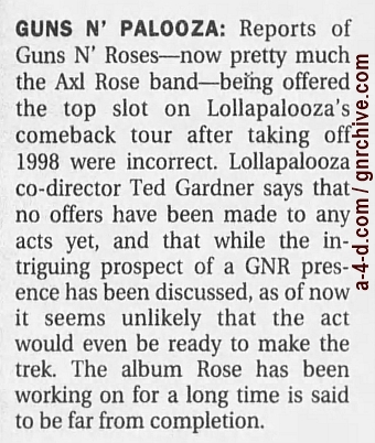 1999.01.31 - Los Angeles Times - Guns N' Palooza 1999_023