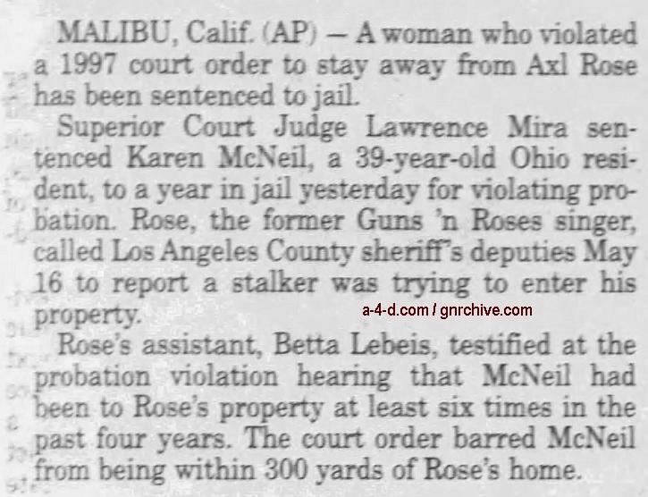 2000.06.20 - AP/Santa Cruz Sentinel - Rocker's Stalker Jailed 2000_043