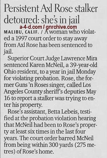 2000.06.20 - AP/Santa Cruz Sentinel - Rocker's Stalker Jailed 2000_045