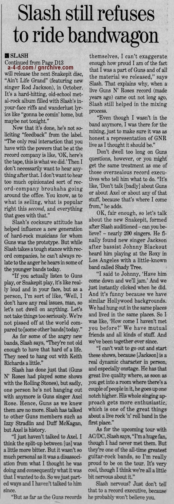 2000.08.04 - The Boston Globe - Slash, Without Compromise 2000_051