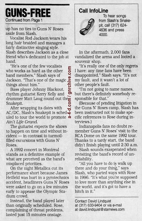 2000.08.25 - Indianapolis Star - Guns Free Zone (Slash) 2000_054