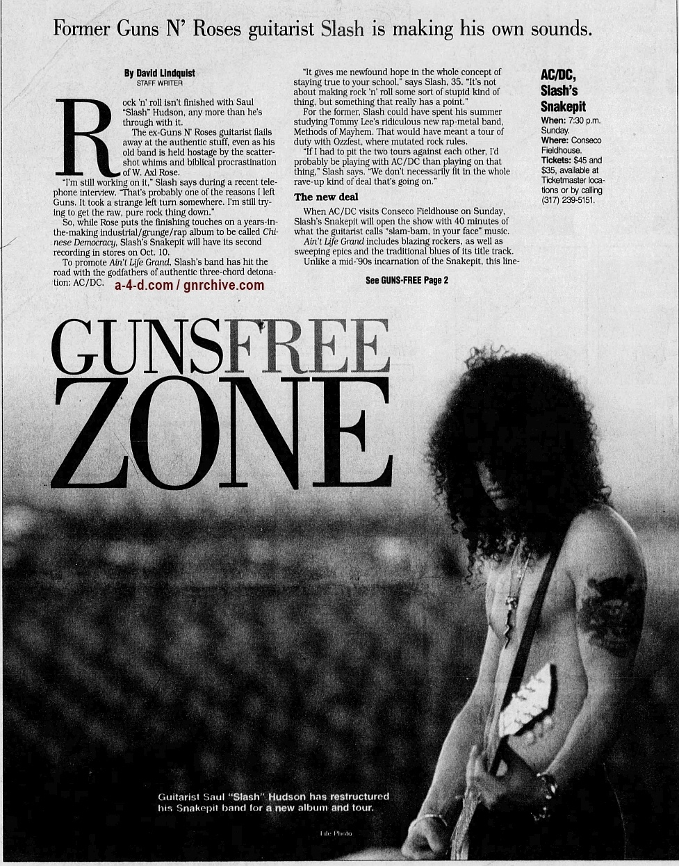 2000.08.25 - Indianapolis Star - Guns Free Zone (Slash) 2000_055