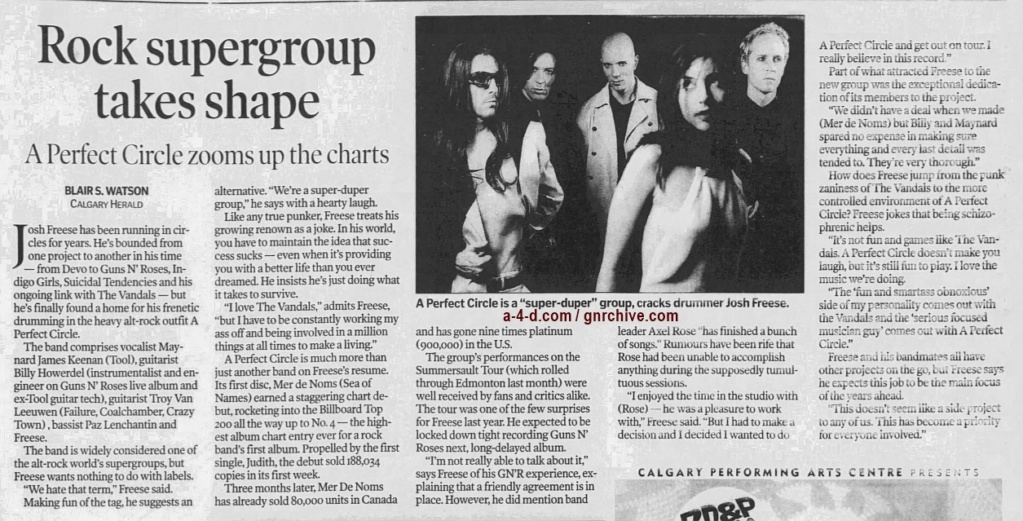 2000.09.02 - Calgary Herald - Rock Supergroup Takes Shape (Josh) 2000_056