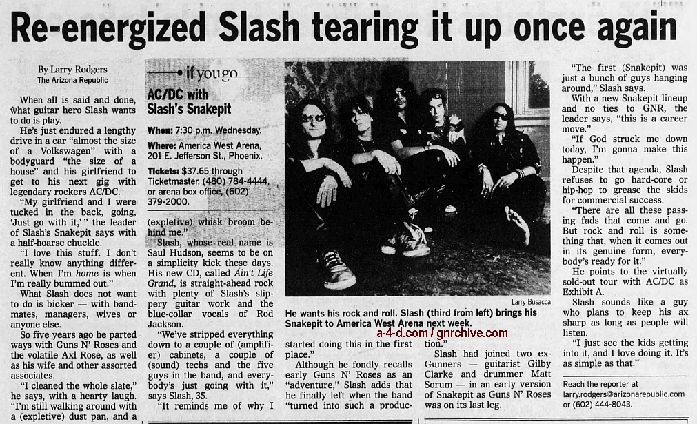 2000.09.07 - Arizona Republic - Re-energized Slash Tearing It Up Once Again 2000_057