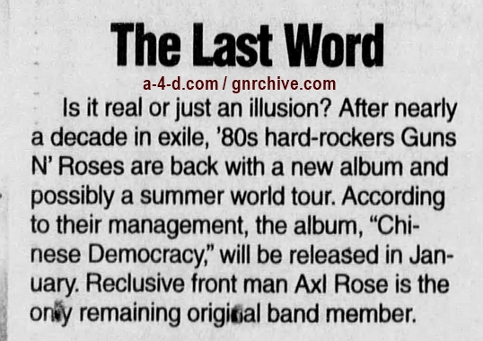 2000.11.04 - The News Journal - The Last Word 2000_116