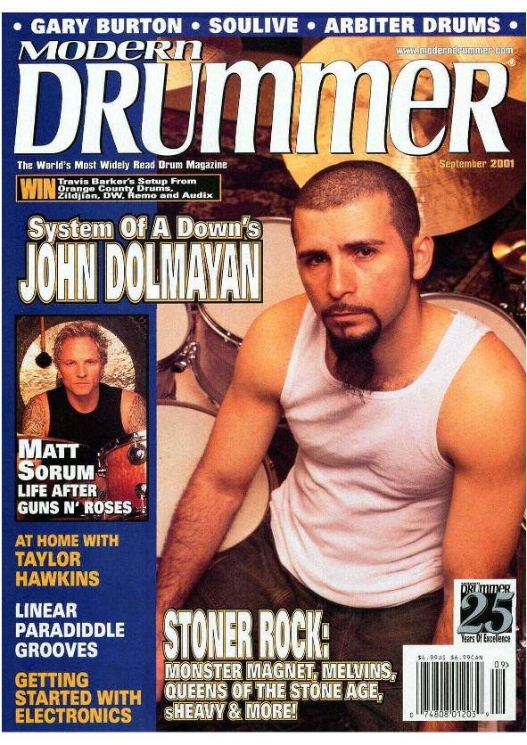 2001.09.DD - Modern Drummer - Matt Sorum: Surviving Super Stardom 2001_014