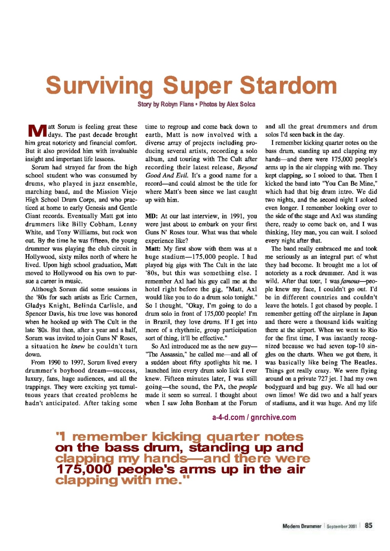 2001.09.DD - Modern Drummer - Matt Sorum: Surviving Super Stardom 2001_016