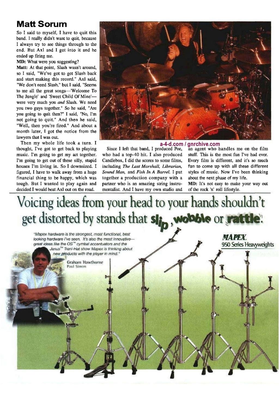2001.09.DD - Modern Drummer - Matt Sorum: Surviving Super Stardom 2001_017
